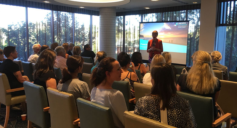 Successful referrers evening at Arcadia Pittwater